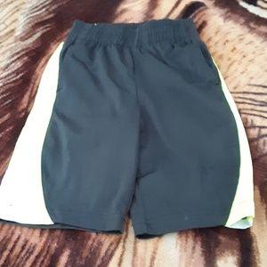 Bright striped shorts